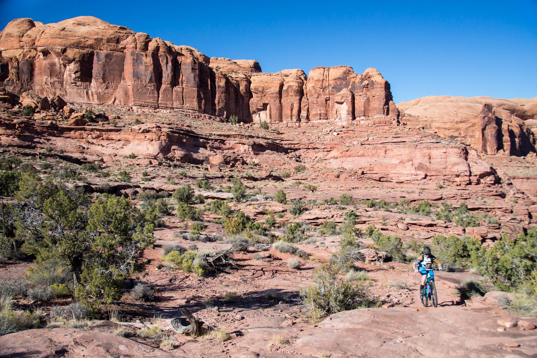 moab mountain biking hymasa trail 3-day trip