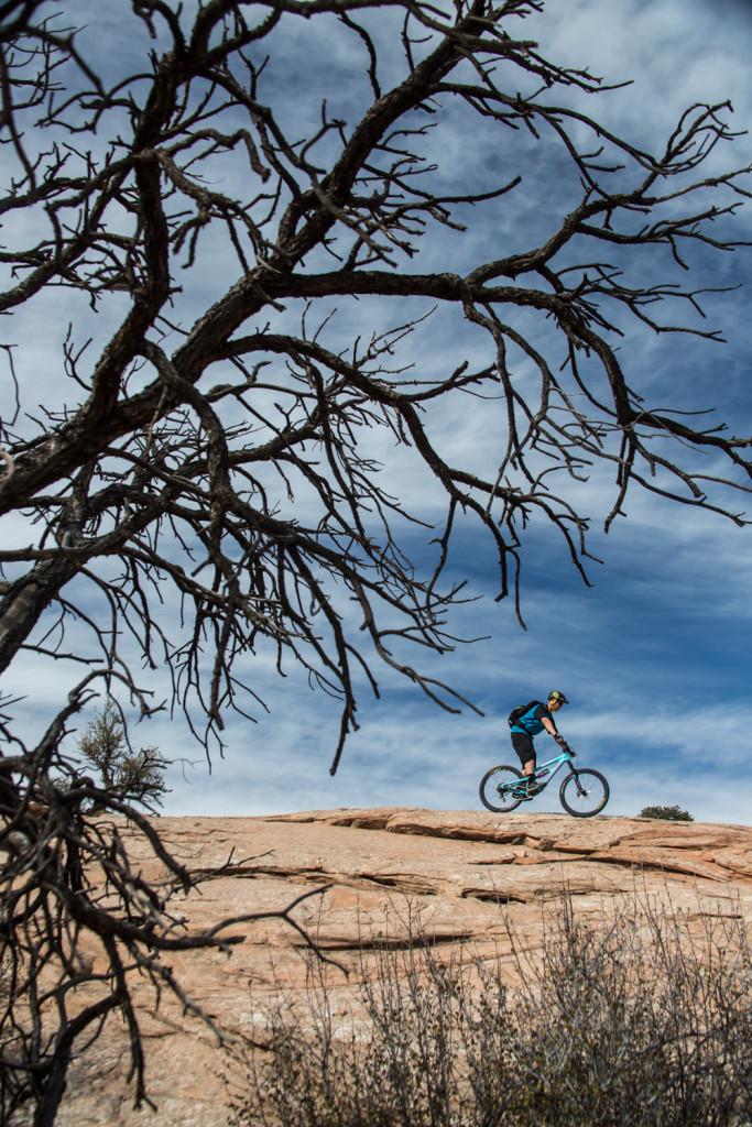 utah moab mountain biking navajo rocks chasing epic
