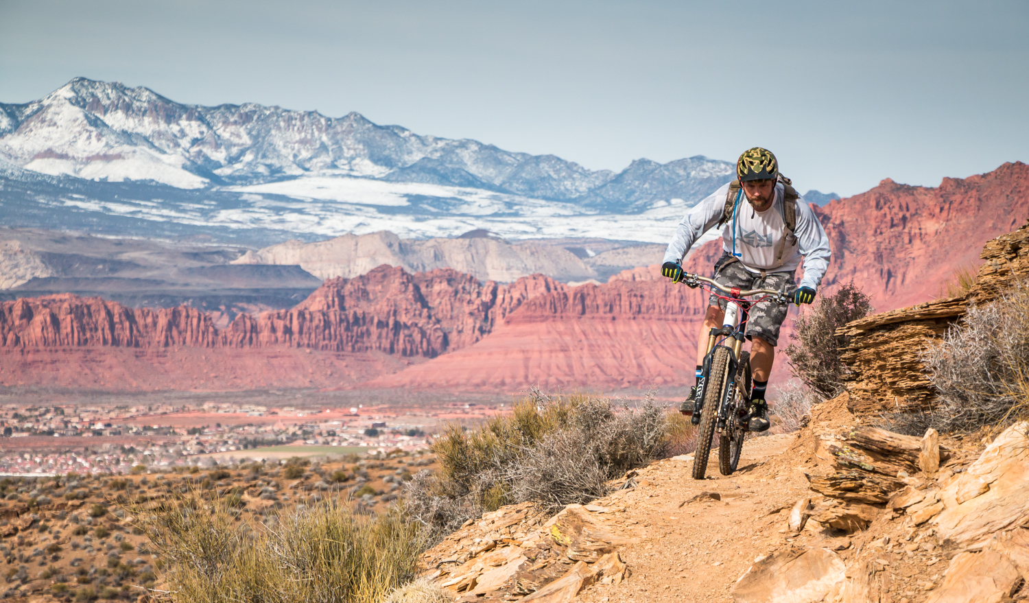 st. george utah mountain biking red rock chasing epic