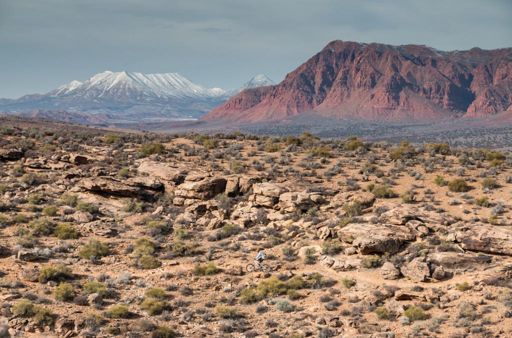 st. george utah mountain biking red rock chasing epic
