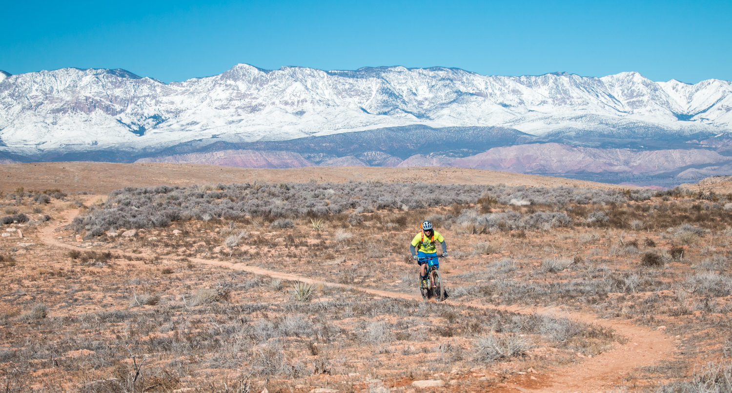 st. george hurricane rim utah chasing epic mountain biking